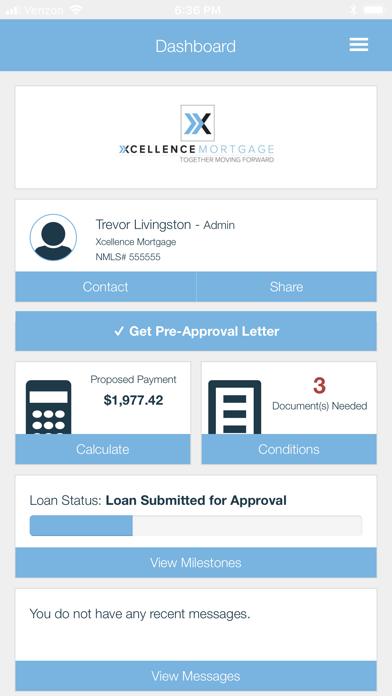 Xcellence Mortgage screenshot two