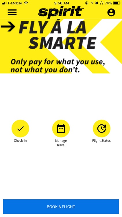 Spirit Airlines Check-in