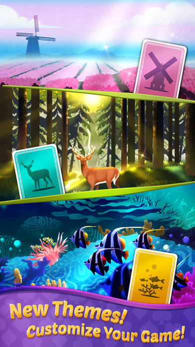 TriPeaks Solitaire with Themes screenshot 4