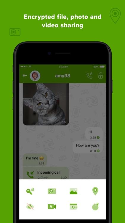 Crypviser Secure Messenger screenshot-5