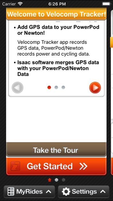 Velocomp Trackerのおすすめ画像2