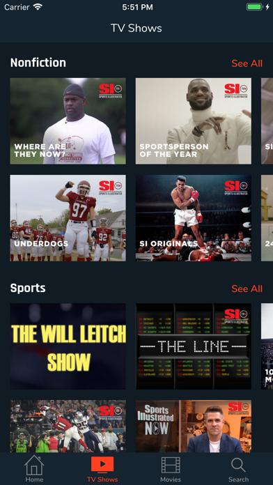 Sports Illustrated TV Screenshot