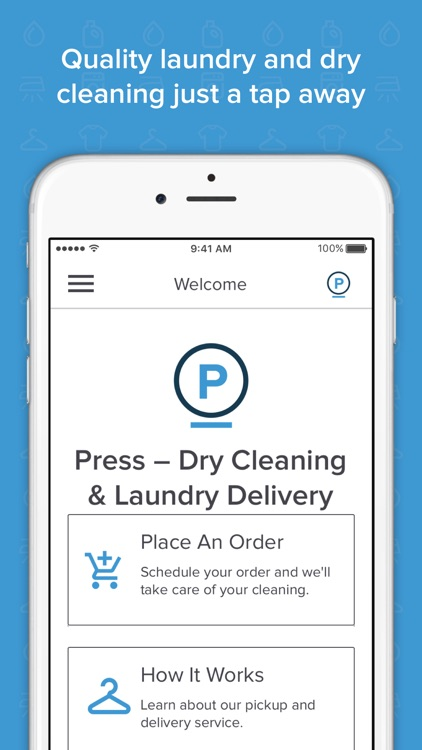 Press – Dry Cleaning & Laundry Delivery