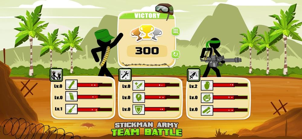 Stickman Army : Team Battle hack tool