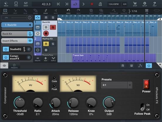 Audio Compressor AUv3 Plugin screenshot 4
