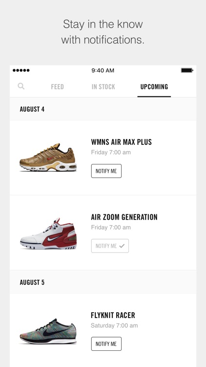 Nike SNKRS screenshot-1