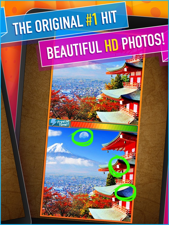 What's the Difference? ~ spot the differences & find hidden objects in this free photo hunt puzzle! screenshot