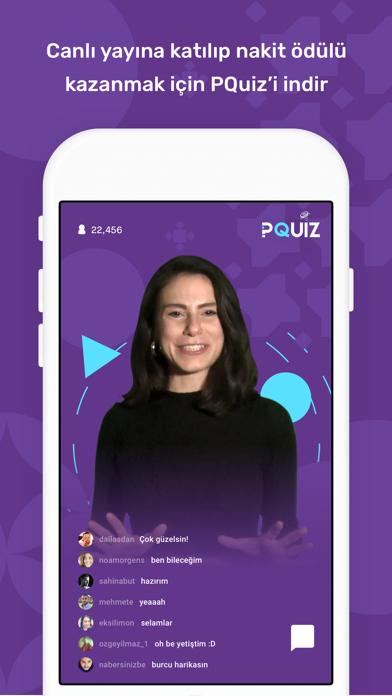PQuiz -Canlı Bilgi Yarışması