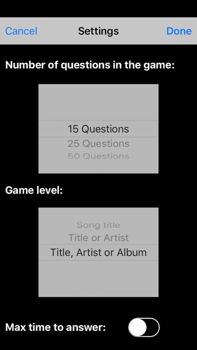Songs Quizのおすすめ画像4