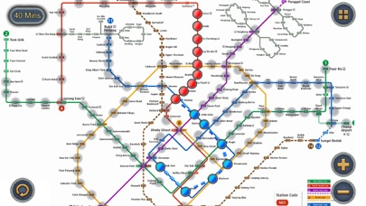 Singapore MRT Map Route Revenue & Download estimates Apple App