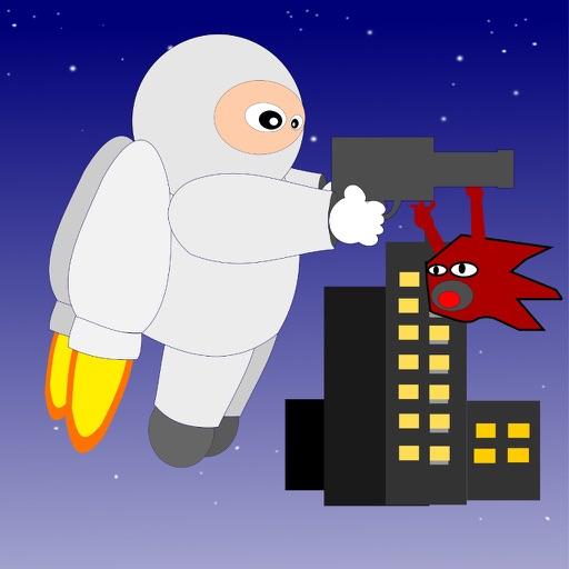 Jetpack Hero - bang bang & fly