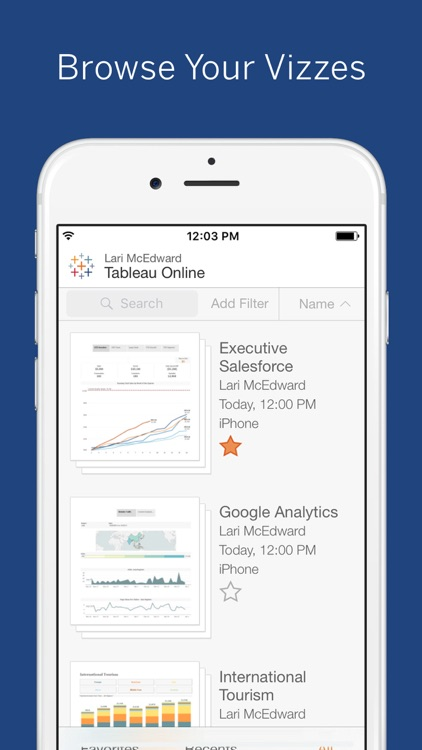 Tableau Mobile screenshot-2