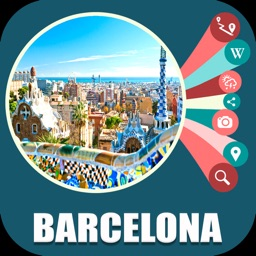 Barcelona Spain Travel Map