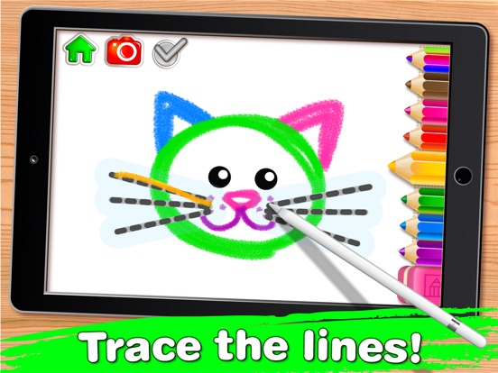 screenshot 2 for drawing for kids learning apps