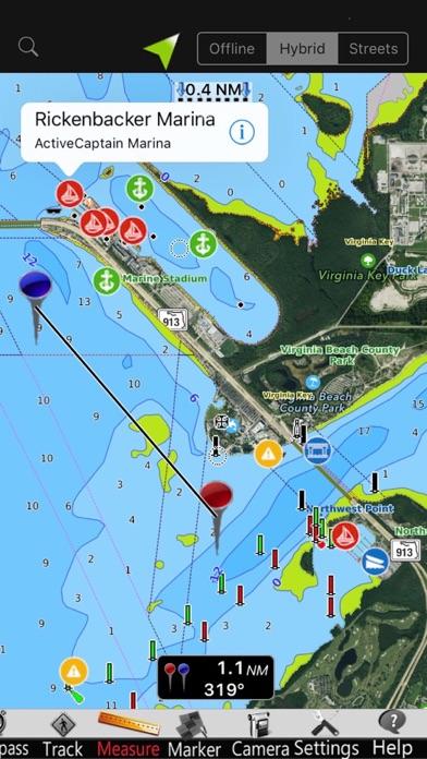 Screenshot 1 For Lake Norman Gps Nautical Chart