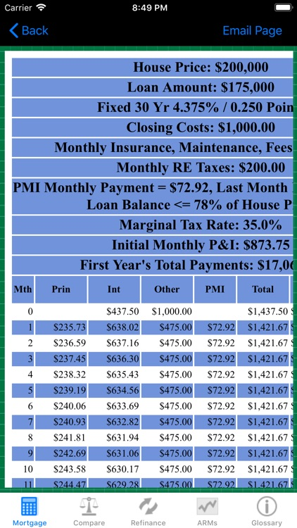 Mortgage Calc Pro screenshot-4