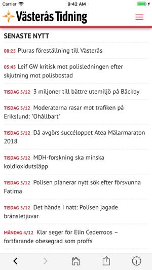 Västerås Tidning i App Store cb2f4adc75ee4