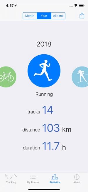 Routie ~ GPS sports tracker Screenshot