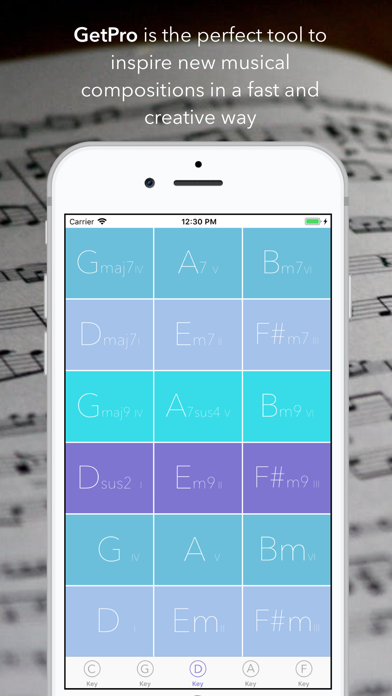 GetProg - Chord Progressions App Data & Review - Music