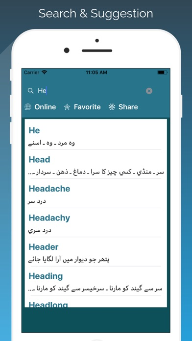 English - Urdu Translator screenshot three