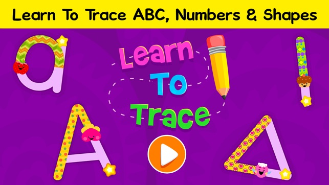 Abc tracing games for toddlers on the app store screenshots altavistaventures Choice Image