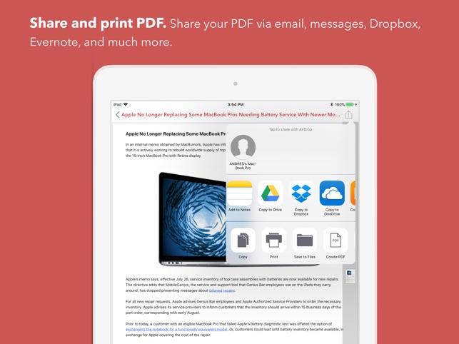 InstaWeb: Web to PDF Converter Screenshot