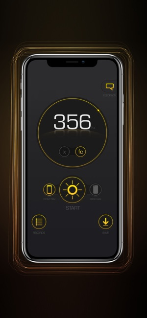 Light Lux Meter Screenshot