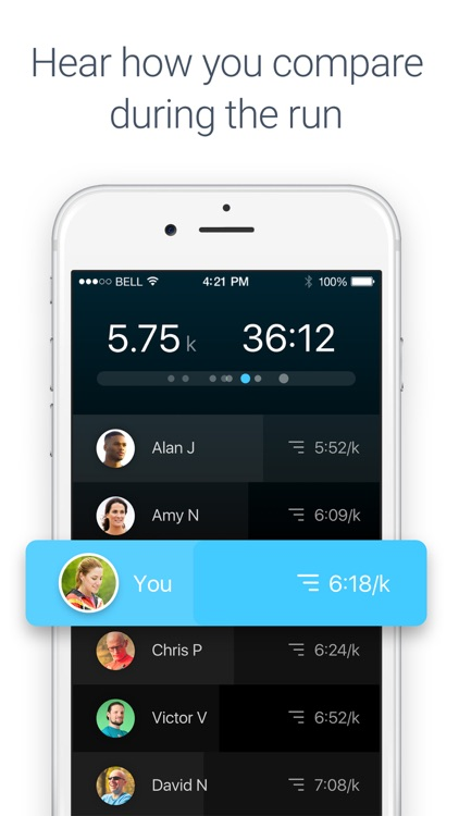 Racefully GPS activity tracker