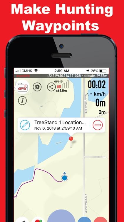 Hunt GPX-Deer Tracker screenshot-3