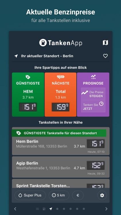 TankenApp mit Benzinpreistrend screenshot-0