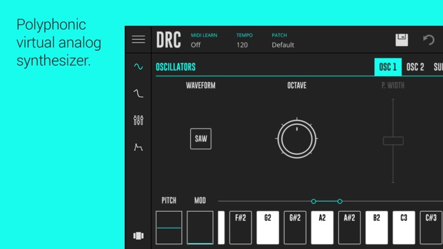 Drc Polyphonic Synthesizer On The App Store
