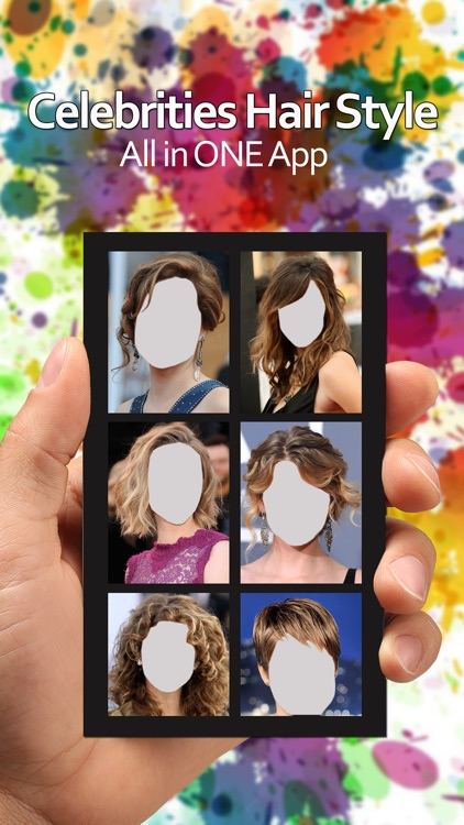 Hair Style Photo Montage