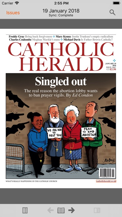 The Catholic Herald review screenshots