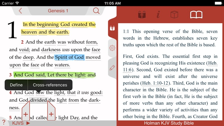 Holman KJV Study Bible screenshot-3