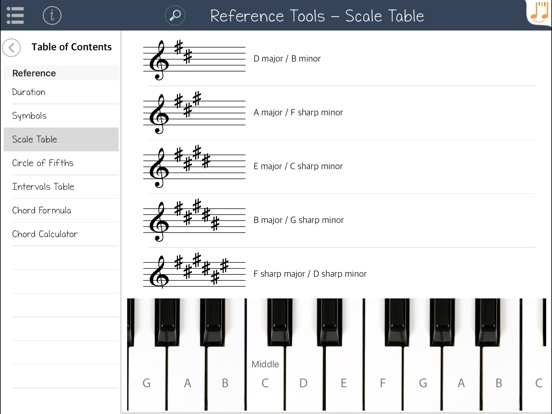 Music Theory Tutor Screenshots