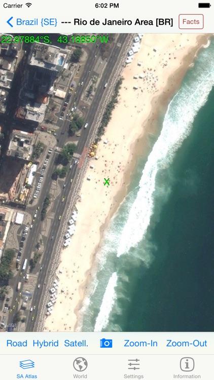 mapQWIK SA - South America Zoomable Atlas screenshot-4
