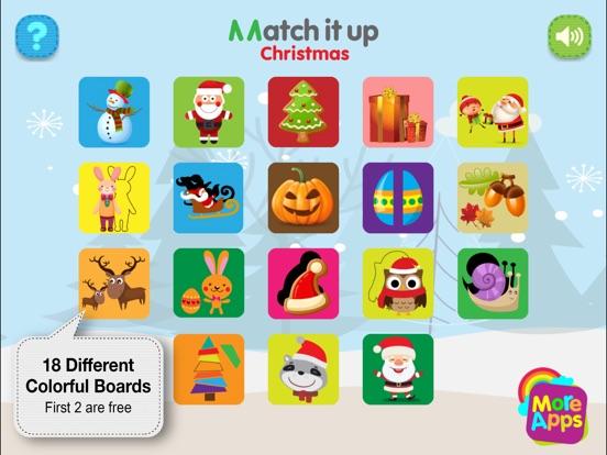 Match It Up - Christmas screenshot 7