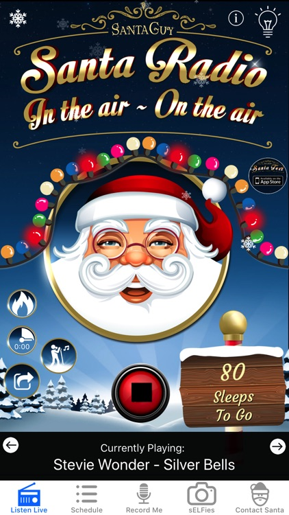 Santa Radio screenshot-0