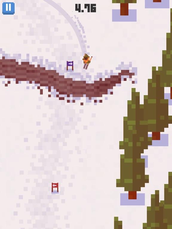 Скачать игру Skiing Yeti Mountain
