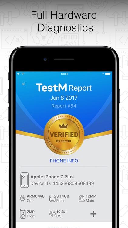 TestM - Check phone & Report screenshot-0