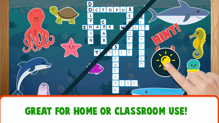 Educational Crossword For Kids screenshot-9