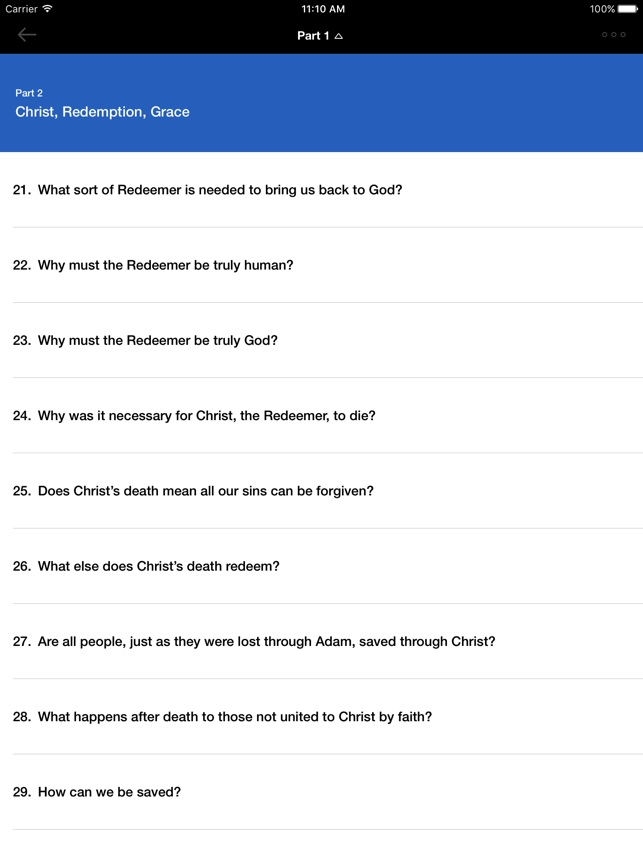new city catechism app