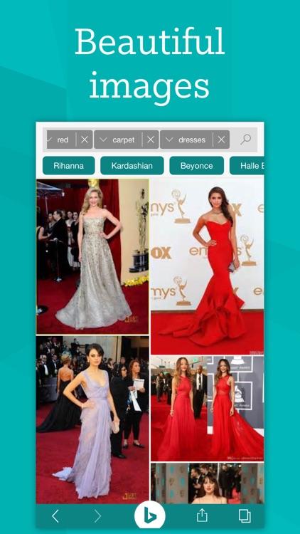 Bing – Fast and beautiful mobile search engine screenshot-0