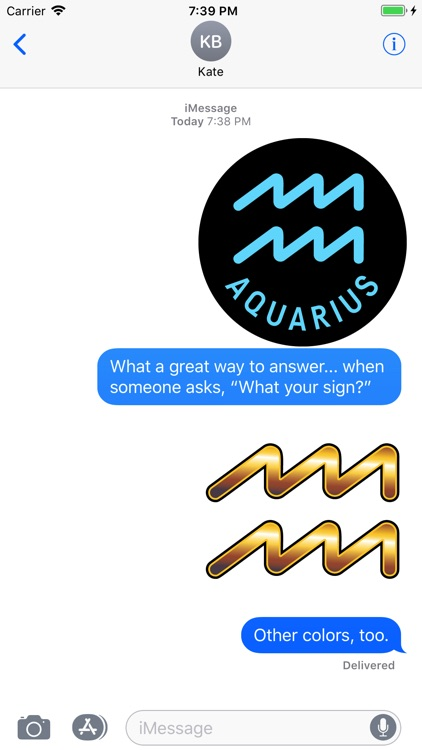 AQUARIUS Stickers