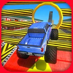Monster Truck Extreme Stunt