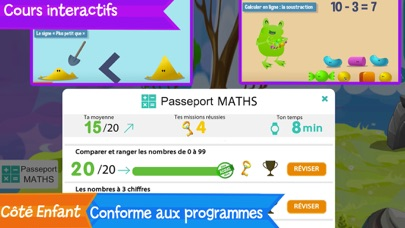 Passeport Révisions screenshot 2