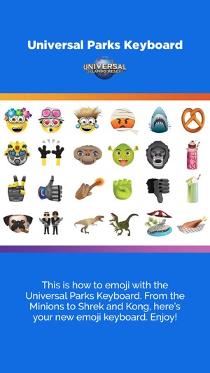 Universal Parks Keyboard on the App Store