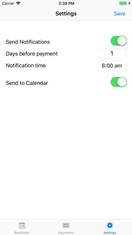 PayMinder screenshot-3