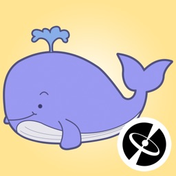 Whale - Cute stickers