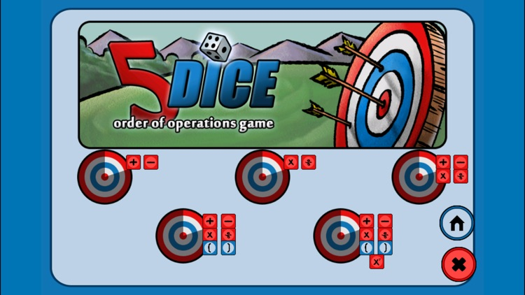 5 Dice Math Game screenshot-4